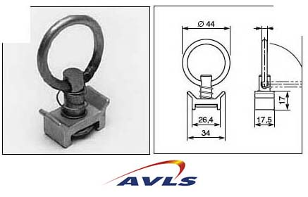 AVLS Anneau 1 point suspension Flying track dessus