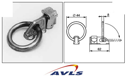 AVLS Anneau 1 point suspension Flying track latéral