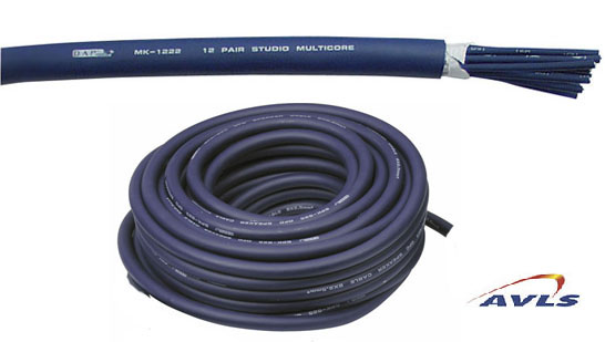 AVLS Cable multipaire audio 12 paires