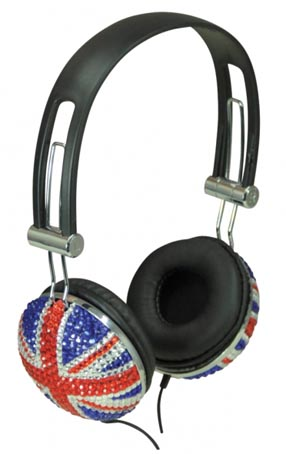 Photo du AVLS Casque anglais paillette