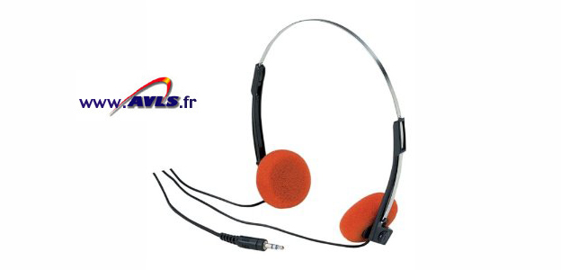 Photo du AVLS Casque Economique orange