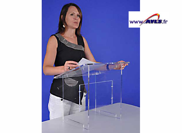 AVLS Pupitre plexiglas de table