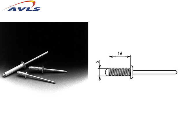 AVLS Rivets 5/16 mm long