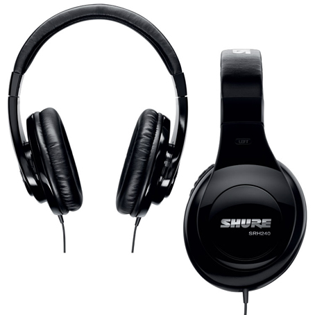 Casque audio SHURE casque audio shure SRH 240A