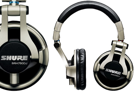 Casque audio SHURE casque audio shure SRH 750DJ