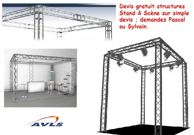 CONTEST Devis Structure triangulaire 200