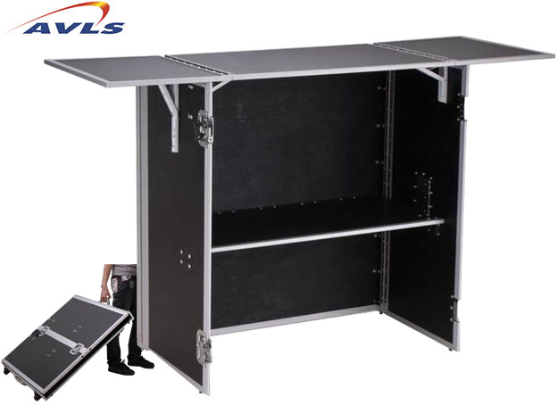 fly case extra fin se transformant en table pour dj pas. Black Bedroom Furniture Sets. Home Design Ideas