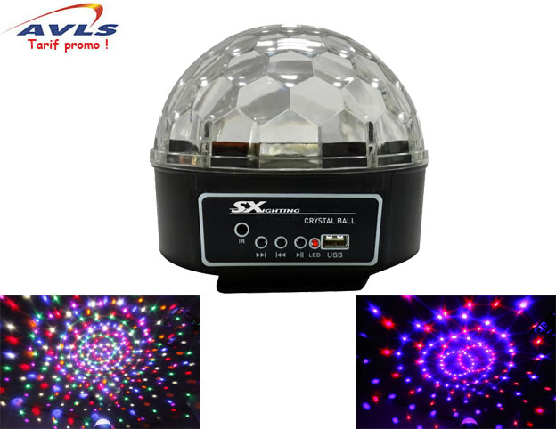 Jeux de lumiere SX LIGHTING CRYSTAL BALL