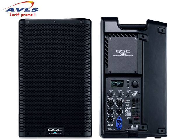 Location Enceinte active QSC K8.2