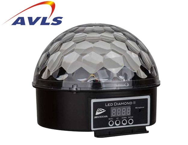 Location jeu de lumiere demi Boule LED DIAMOND