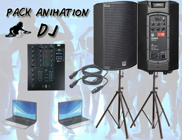 Location pack animation DJ