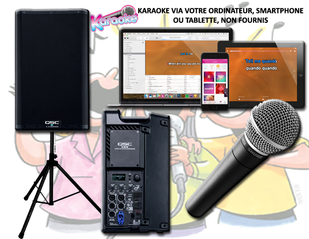 Location pack KARAOKE 2