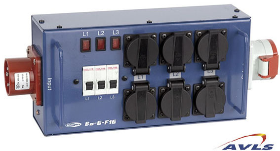 SHOWTEC POWER SPLITTER16