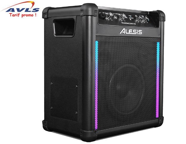 sono portable batterie secteur alesis tawireless2 25 watts avec 1 micro main filaire et 1. Black Bedroom Furniture Sets. Home Design Ideas