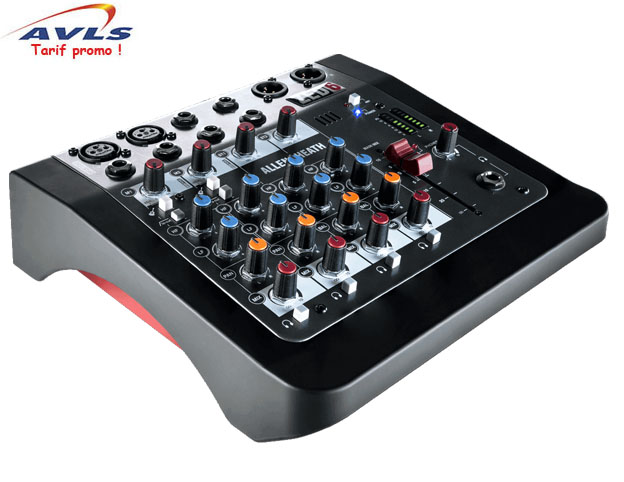 table de mixage allen heath zed 6 2 xlr pas cher en vente a prix discount sur le site avls. Black Bedroom Furniture Sets. Home Design Ideas