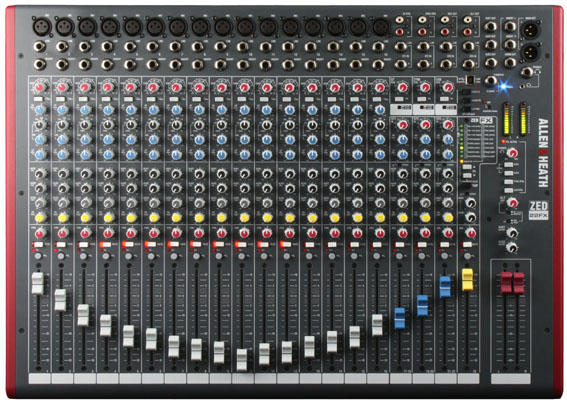 Table de mixage allen heath table de mixage audiophony for Table de mixage xpress 6 keywood