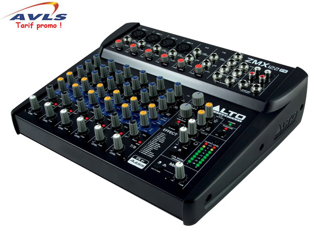 Table de mixage allen heath table de mixage audiophony for Table de mixage zmx 52