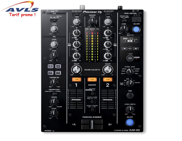 Photo du Table de mixage PIONEER table de mixage DJM 450