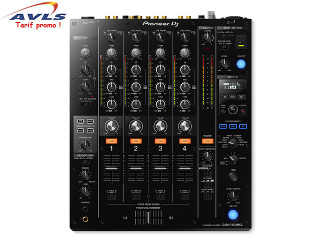 Table de mixage PIONEER table de mixage DJM 750 MKII