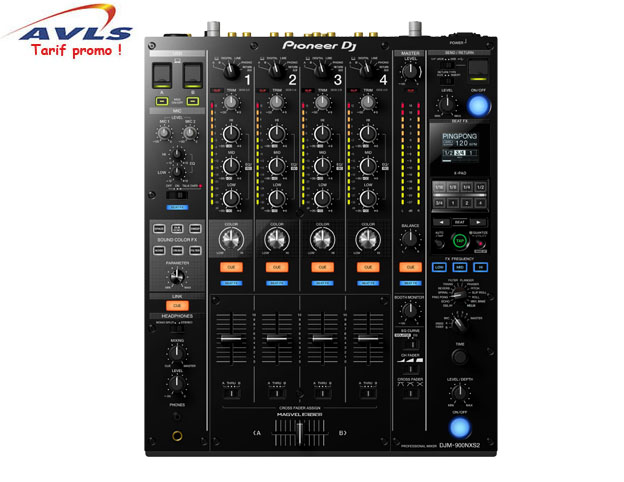 table de mixage pioneer djm 900 nexus2 noir pas cher en. Black Bedroom Furniture Sets. Home Design Ideas