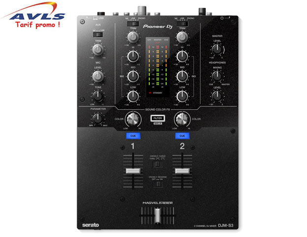 Table de mixage PIONEER table de mixage DJM S3